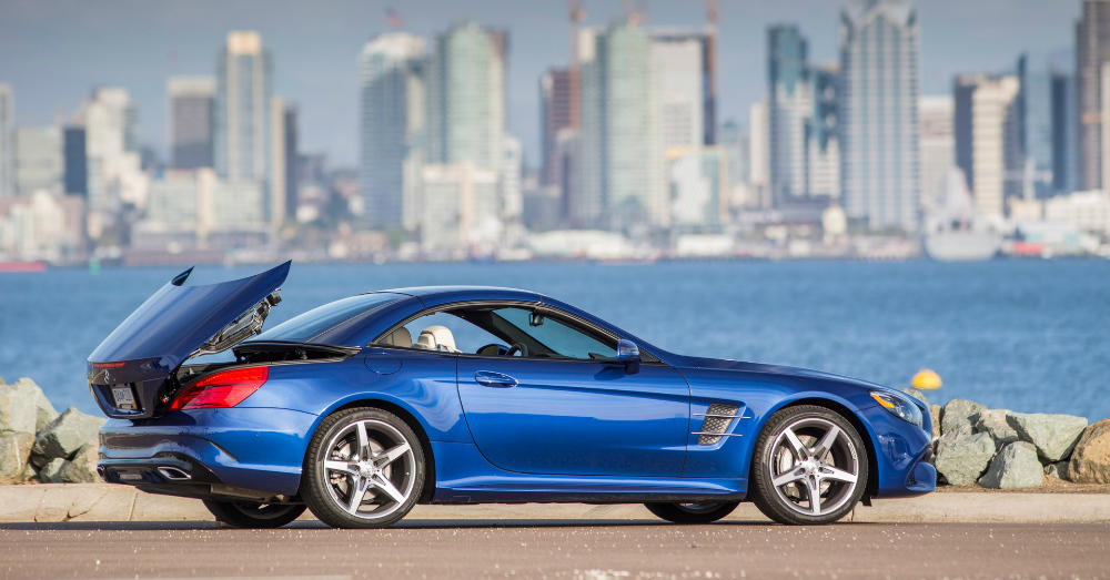 11.15.16 - Mercedes-Benz SL 550