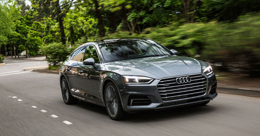 2018 Audi A5 Sporty and Free Spirited