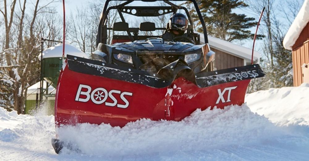 Meet Winter Head-On with the Boss UTV V Plow