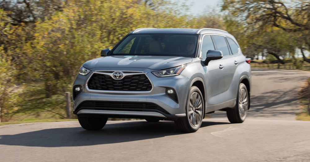 Get the Right Drive in the Toyota Highlander