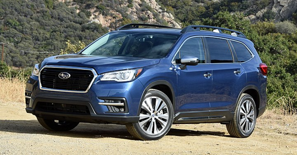 The Big and Bold Subaru Ascent