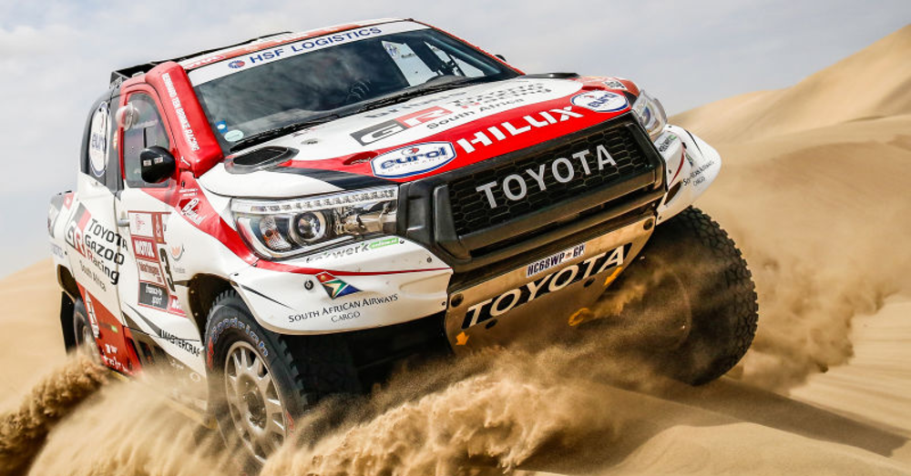 Toyota Takes the Crown in 2019 Dakar Rally