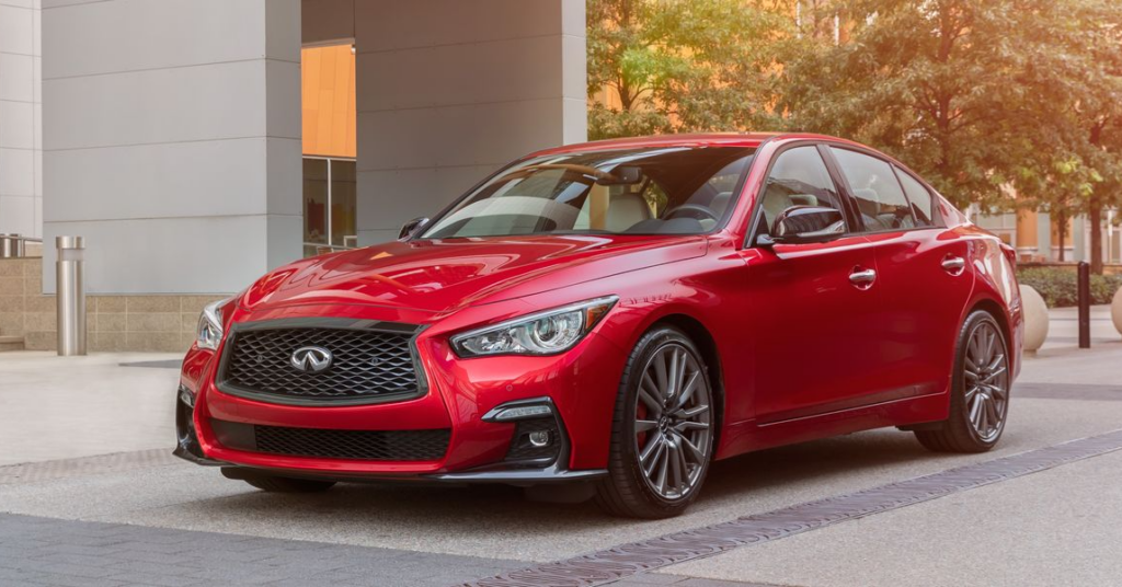 2021 INFINITI Q50: Contemporary Style and Serious Luxury Sportiness