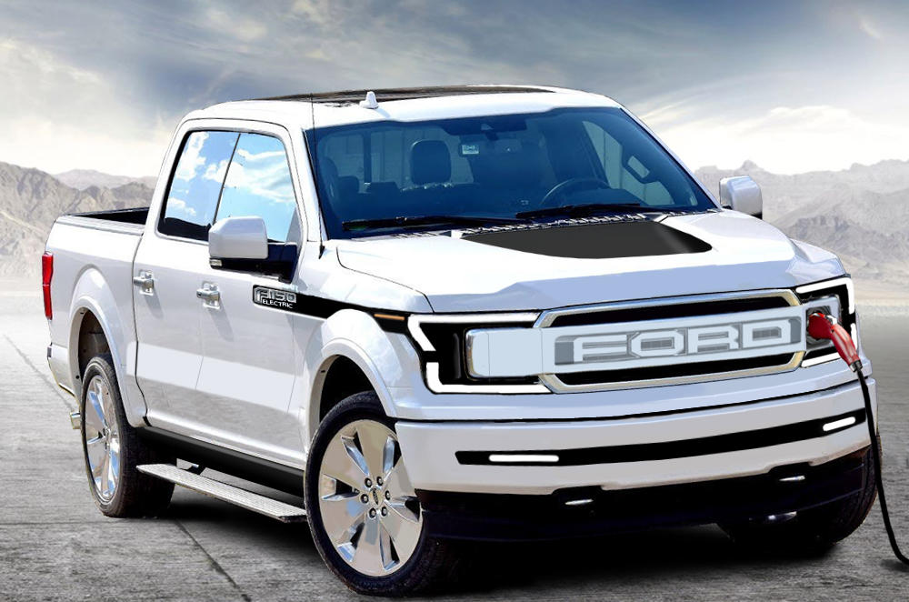 The Ford F-150 is Going Electric