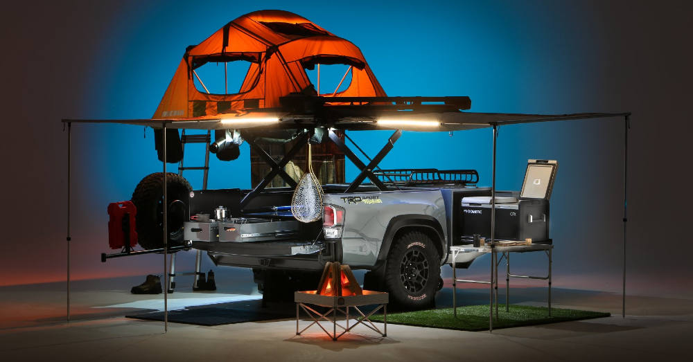 Add The Toyota TRD-Sport Trailer Concept is the Companion to Your Gear