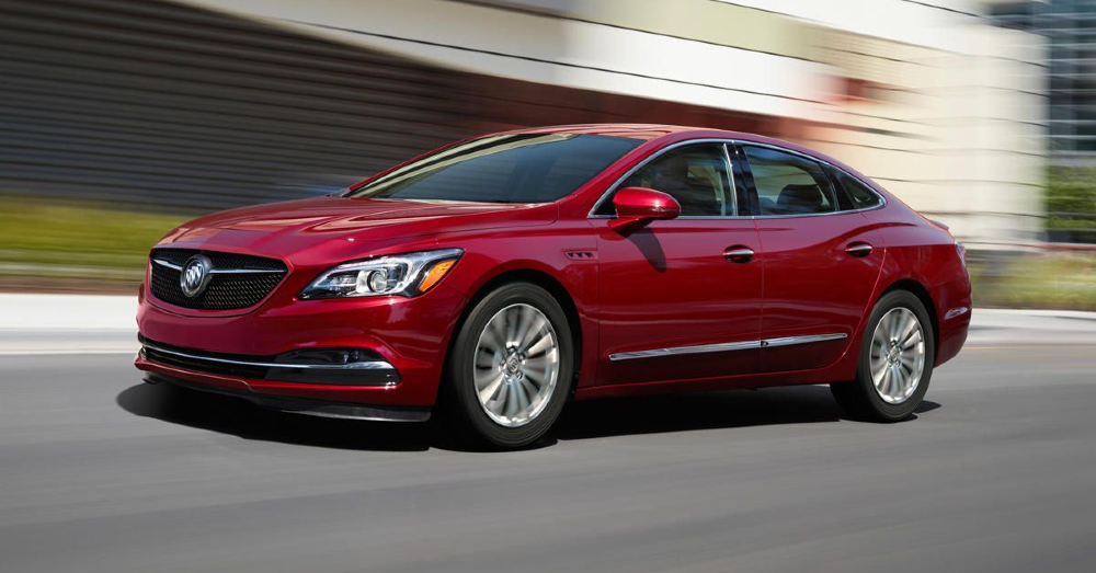 Buick LaCrosse - The Spacious Ride from Buick