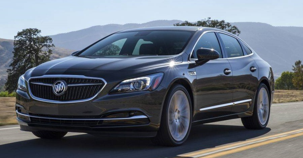 Buick LaCrosse - A Large Sedan with the Premium Feeling