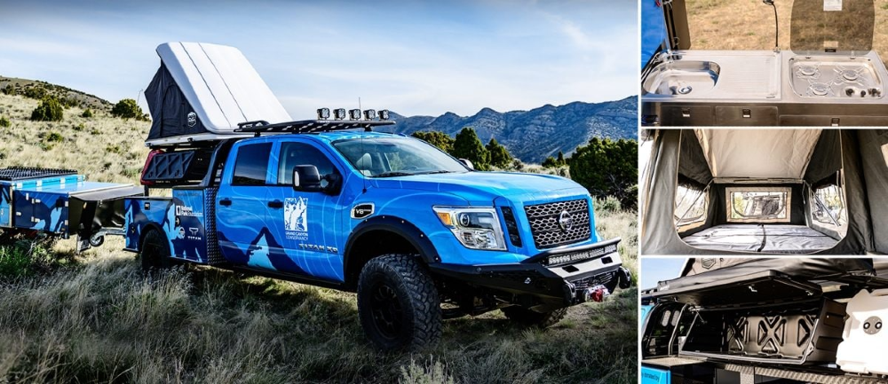 Nissan Shows How the Titan Can be Used