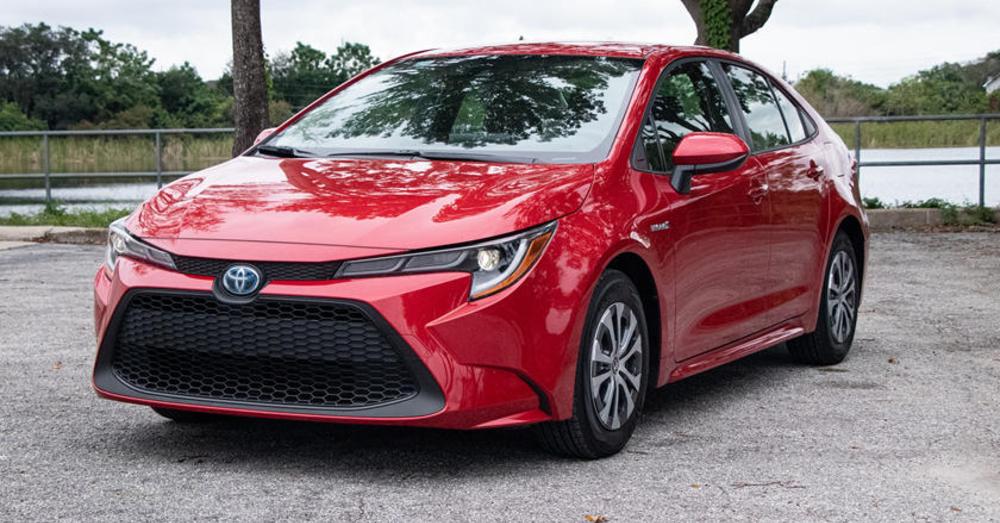 A Single Trim for the Toyota Corolla Hybrid LE