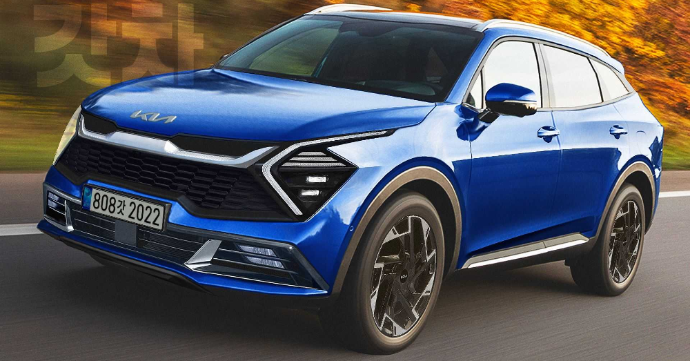 The Kia Sportage Gets A New Look